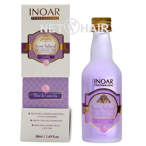 Inoar Natural Oil Collection Óleo De Camélia - 50ml