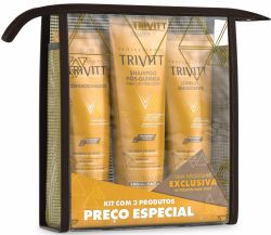 Kit Home Care Trivitt com Leave-In Hidratante
