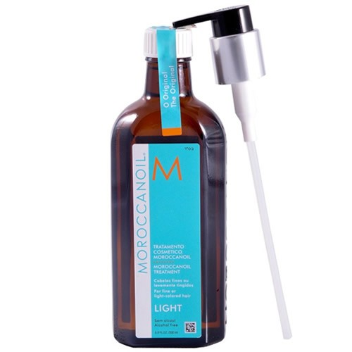 Moroccanoil Light Original Oil Treatment - Óleo de Tratamento - 200ml