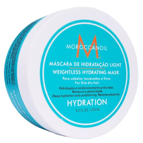 Moroccanoil Weightless Hydrating Mask - Máscara De Hidratação Light - 250ml  - foto 1