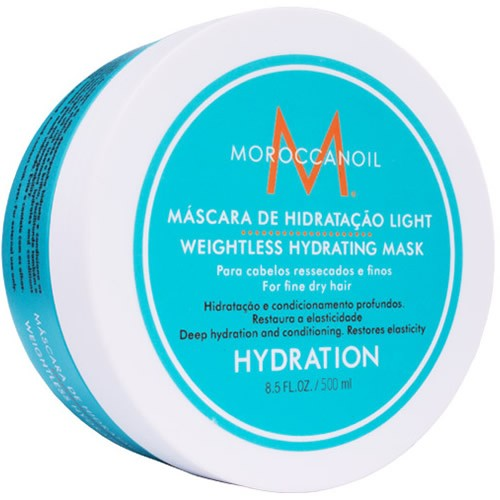 Moroccanoil Weightless Hydrating Mask - Máscara De Hidratação Light - 500ml  - foto 1