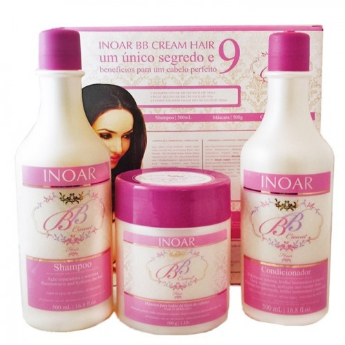 Inoar BB Cream Kit Tratamento