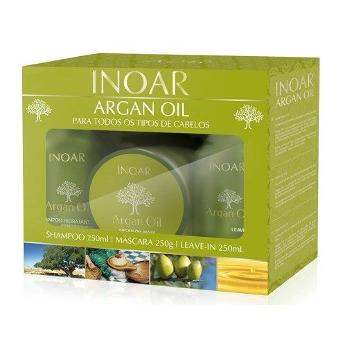 Inoar Kit Argan Oil Cuidados