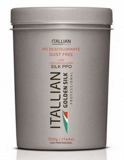 Itallian Pó descolorante Golden Silk (Dust Free) 500g