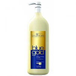 Salvatore Shampoo Blue Gold - Step 1  - foto 1