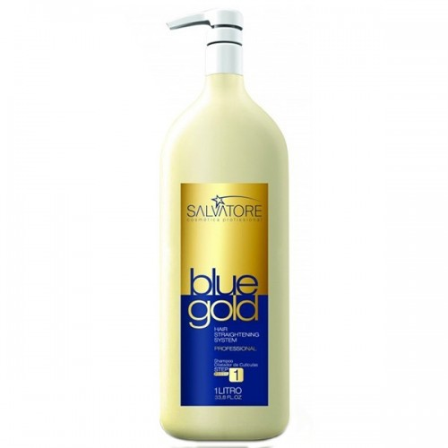 Salvatore Shampoo Blue Gold - Step 1  - foto principal 1