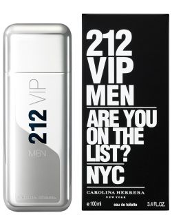 212 Vip Men Eau de Toilette Carolina Herrera - Perfume Masculino - 100ml Carolina Herrera