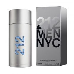 Carolina Herrera Perfume Masculino 212 Men - Eau de Toilette 100ml