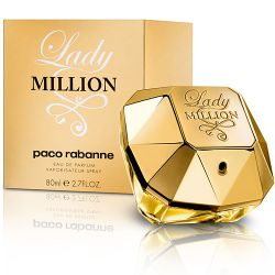Lady Million Eau de Parfum Paco Rabanne - Perfume Feminino - 80ml