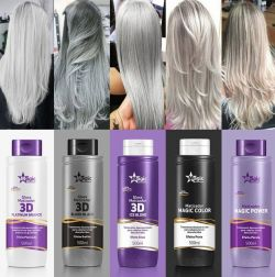 Magic Color Gloss Matizador 3D Blond Black Efeito Grafite  500ml  - foto 2