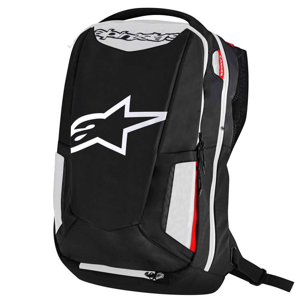 MOCHILA ALPINESTARS CITY HUNTER BRANCA