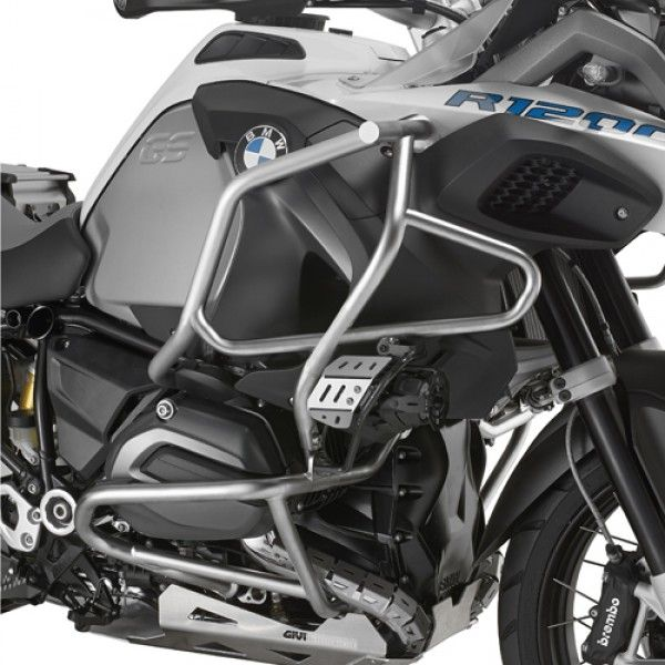 PROTETOR DE MOTOR E CARENAGEM GIVI (LATERAL) R1200GS ADV 15/ (INOX)