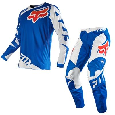 CONJUNTO FOX 180 RACE AZUL