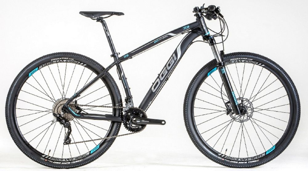 BICICLETA OGGI BIG WHEEL 7.3 - ARO 29'' GRAFITE/AZUL