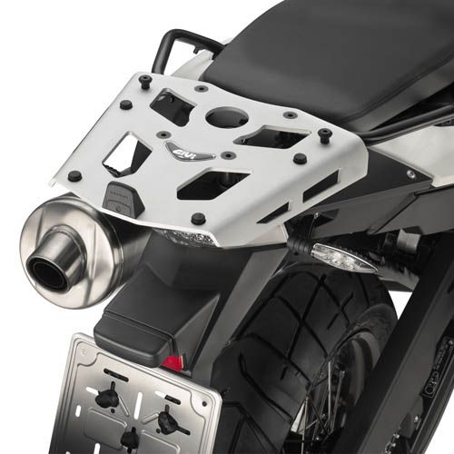 BASE CENTRAL GIVI PARA BAÚ MONOKEY F800GS E ADVENTURE (ALUMÍNIO)