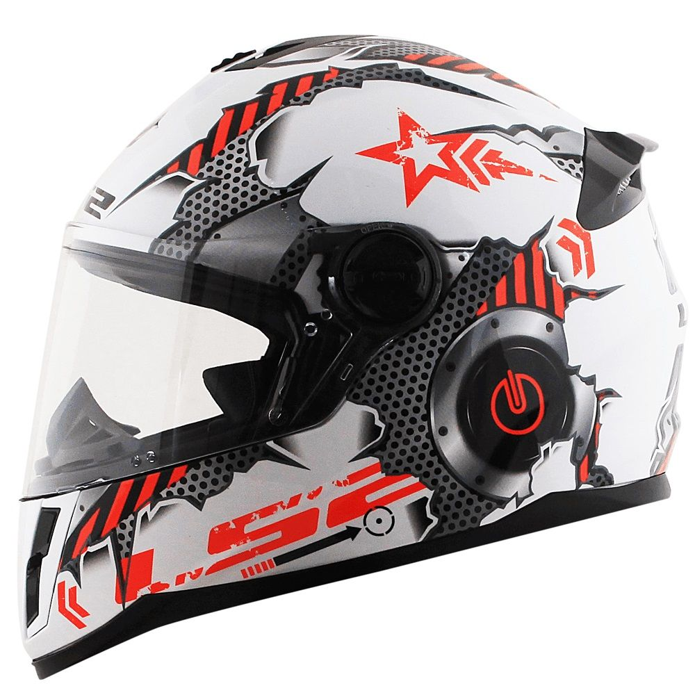 CAPACETE LS2 FF392 JUNIOR MACHINE