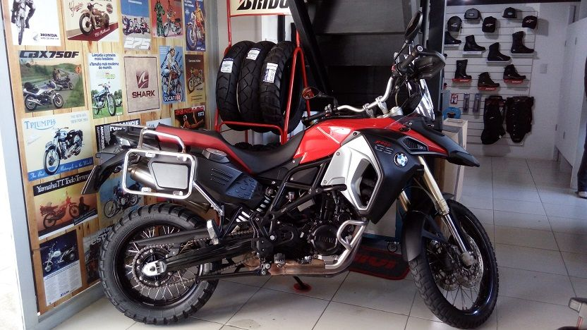 MOTO BMW F800 GS ADVENTURE 2015