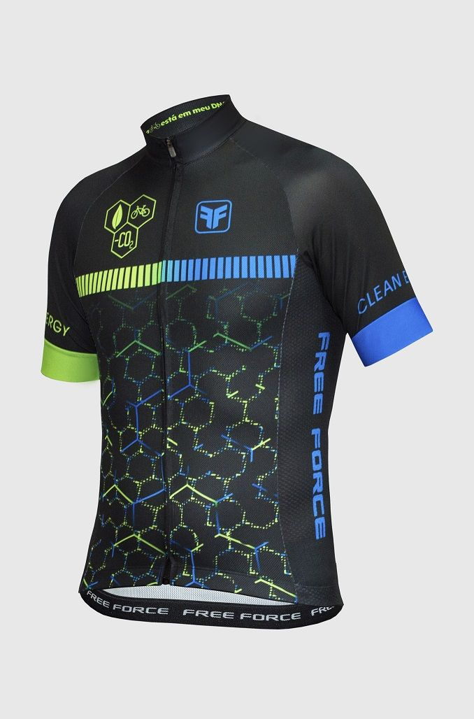 CAMISA FREE FORCE SPORT - CLEAN ENERGY (MANGA CURTA)