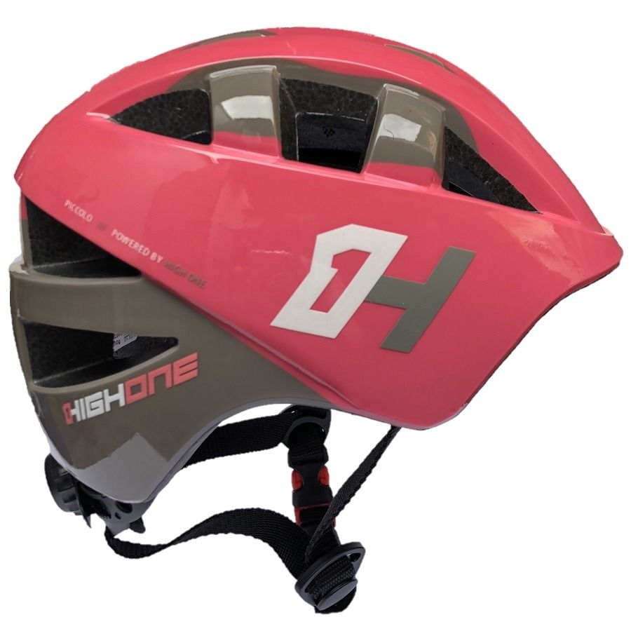CAPACETE INFANTIL HIGH ONE BABY ROSA/CINZA