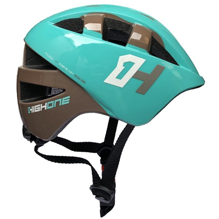CAPACETE INFANTIL HIGH ONE BABY ACQUA/CINZA