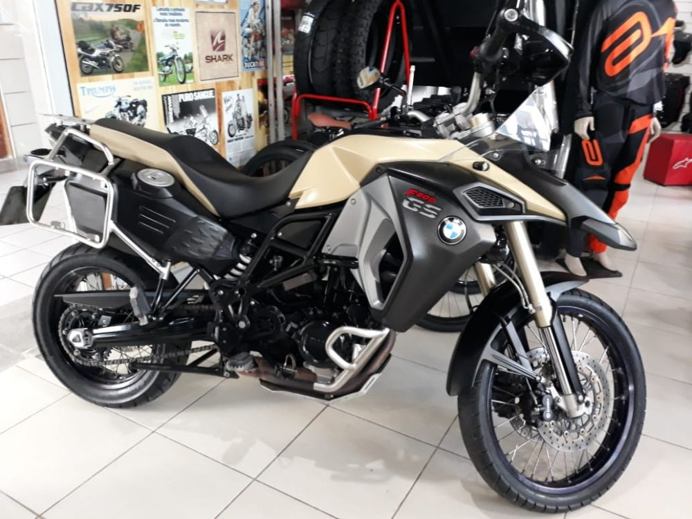 MOTO BMW F800GS ADVENTURE 2015 - R$ 33.500,00
