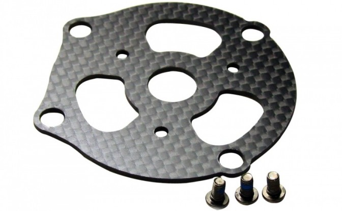 S1000 Part 10 Motor Mount Carbon Board