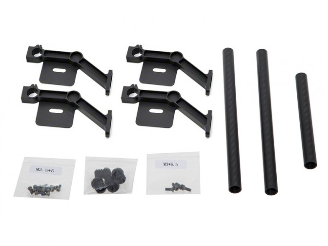 S900 Part 19 Gimbal Damping Connecting Brackets - Conectores Braço Gimbal