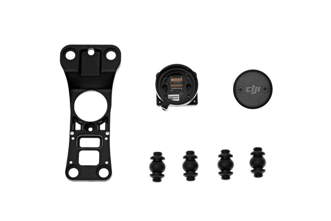 Inspire 1 Part 41 Gimbal Mount & Mounting Plate -  Montante Gimbal e Montante Plate