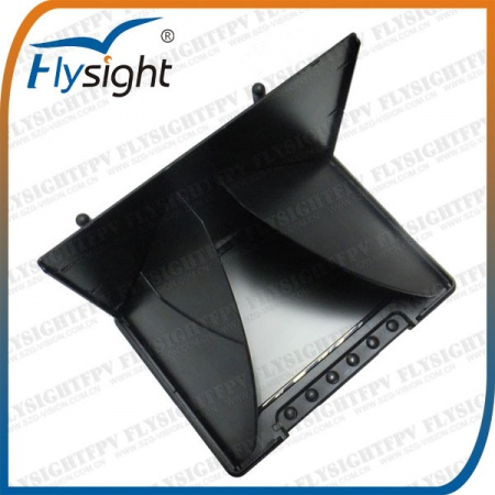 Sunshade / Sunhood dobrável para Monitor Flysight Black Pearl 7''