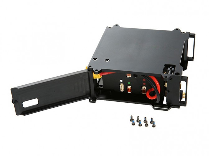 Matrice 100 Part 03 Battery Compartment Kit - Kit de compartimento de Bateria  - foto principal 1