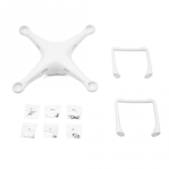 Phantom 3 Part 72 Shell (Includes Top & Bottom Covers)(Sta) - Shell P3 Standard
