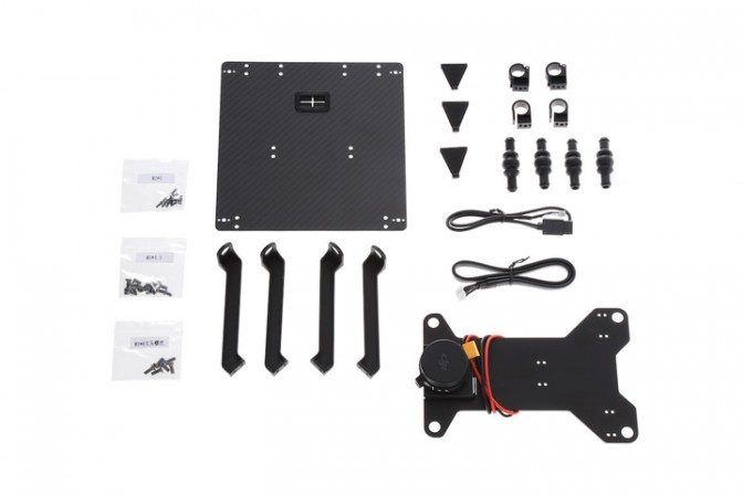 Matrice 600 Part 01 Zenmuse X3/X5 Gimbal Mounting Bracket