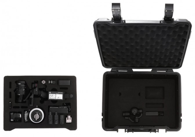 DJI Osmo Part 78 Carrying Case (Osmo RAW)
