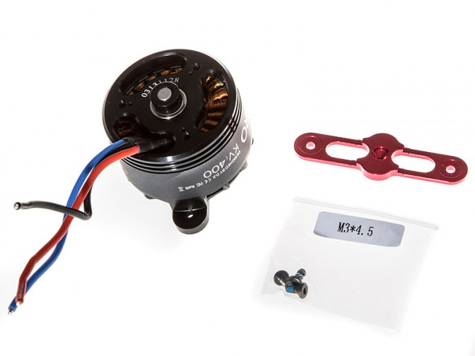 S1000 part 55 / part 22 S900 4114 Motor with red Prop cover  - foto principal 2