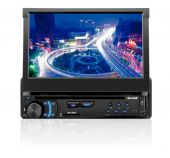 DVD Player Automotivo Retratil Multilaser Blade Tela 7 Touch  AM/FM Ent.Câm.de Ré USB SD Auxiliar - P3295