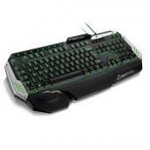 Teclado Gamer Antighosting Metal War C/ Led Multilaser Tc189
