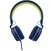 Fone De Ouvido Headphone Pulse Fun Ph162 Azul Verde On Ear