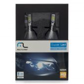 Kit Xenon Super Led H3 12v 30w 6200k - Multilaser Au824  - foto 6