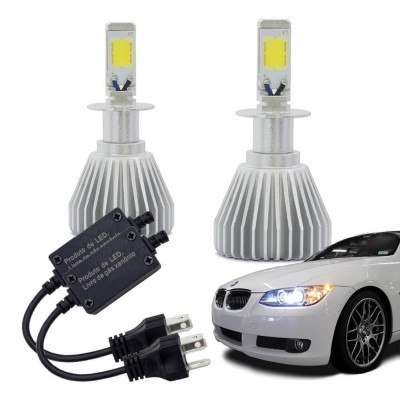 Kit Xenon Super Led H3 12v 30w 6200k - Multilaser Au824  - foto principal 1