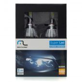 Kit Xenon Super Led Hb3 12v 30w 6200k - Multilaser Au830