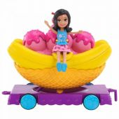 Carrinhos De Carnaval Banana Split Polly Pocket Mattel