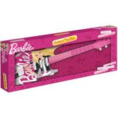 Guitarra Infantil Da Barbie Fun Conecta Com Celular Mp3