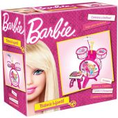 Bateria Infantil Barbie Fun Instrumento Musical Kids