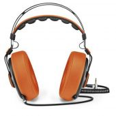 Fone De Ouvido Headphone Wired Large Laranja Ph239 Pulse vpsom 2