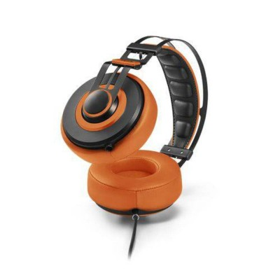 Fone De Ouvido Headphone Wired Large Laranja Ph239 Pulse vpsom 3