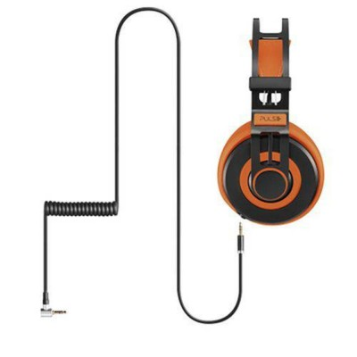 Fone De Ouvido Headphone Wired Large Laranja Ph239 Pulse vpsom 1