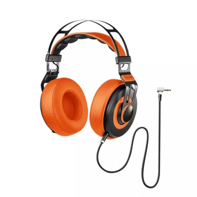 Fone De Ouvido Headphone Wired Large Laranja Ph239 Pulse vpsom
