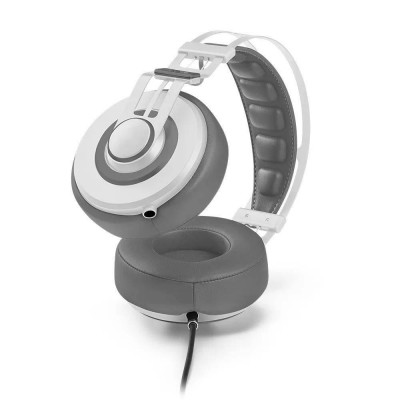 Fone De Ouvido Headphone Wired Large Branco Ph238 Pulse vpsom 3