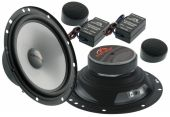 Kit 2 Vias Hinor Cruzader In 6 polegadas 200w Rms kit Duas Vias Falantes + Crossover + Tweeter