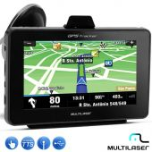 GPS Automotivo Multilaser Tracker 4.3 Polegadas